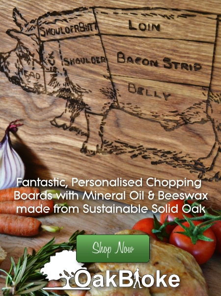 Personalised Gifts | Oak Chopping Boards