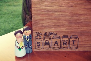 Mr & Mrs Wedding Chopping Board