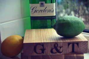 Engraved G&T