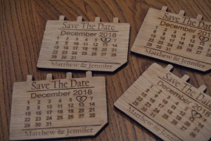 Save the Date Fridge Magnets